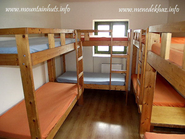 one of the 8-bed dorms